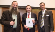 """Winner of the 2012 """"Sustainable Packaging Award"""" jointly presented with Anuga FoodTec for the first time"""
