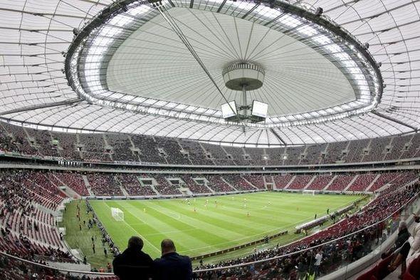 Stadion, Euro 2012