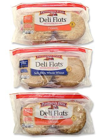 Pepperidge Farm Deli Flats Package, sustainable packaging