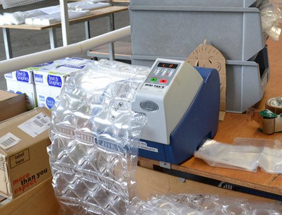maszyna pakująca mini-pak'r