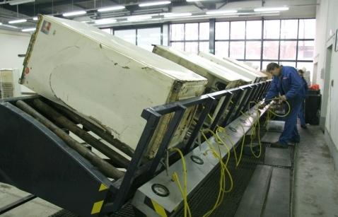 Hala w nowym zakładzie Remondis w Łodzi