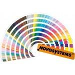 Coloring plastics using the Pantone color scheme