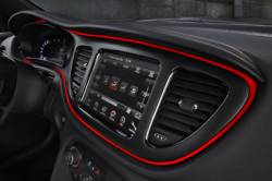 2013 Dodge Dart Floating Island Bezel Using SABIC's High-performance CYCOLOY™ and GELOY™ Resins
