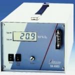 Przykład działania analizatora do mierzenia tlenu w opakowaniach