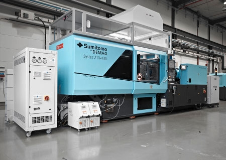 Designed for packaging injection moulding the Systec SP 280; for fast cycling and low running costs