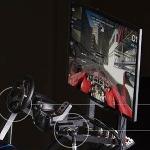 Symulator WRC z łożyskami igus na targach Toolex