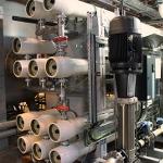 First European application of Lanxess' Lewabrane membrane