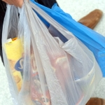 Low plastic bag consumption in Germany