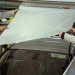 Folia firmy Novacel zabezpieczająca samochodowe nadwozia