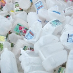 Weak collection of HDPE/PP bottle fractions in Europe
