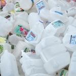 Skromna zbiórka butelek z HDPE i PP w Europie