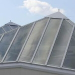 Polycarbonate reinvents modern construction