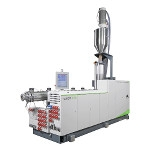 First  2,000 mm pipe extrusion line with internal cooling system in Asia