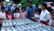 Dezynfekcja wody w butelkach PET