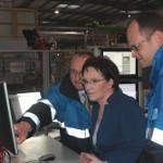 Premier Kopacz w fabryce BASF