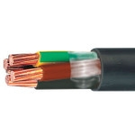 New halogen-free jacketing compound for cables