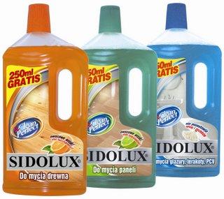 opakowania firmy Sidolux