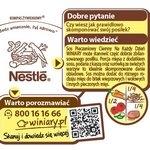 Kompas żywieniowy na opakowaniach Nestle
