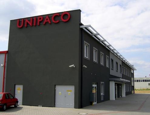 zakład firmy Unipaco