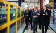 Piechociński z wizytą w fabryce AGD