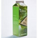 Beverage cartons with innovative renewable coatings