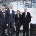 Vehicle fleet operators save fuel using green tires