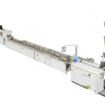 Cost-efficient turnkey WPC/NFC extrusion & coextrusion lines