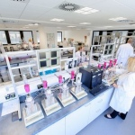 New application technology center for superabsorbent polymers