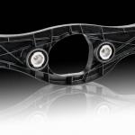 Mercedes klasy S z poliamidową tylną belką poprzeczną