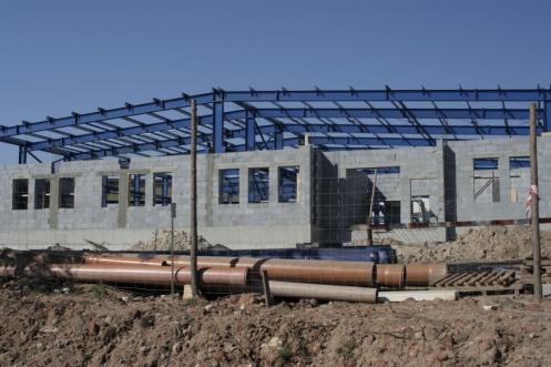 plac budowy pod fabrykę firmy Mecacontrol