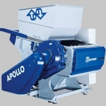 Lindner expands its range of Apollo plastic shredders