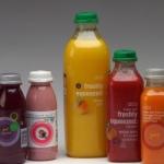 Galeria opakowań - butelki z 30 proc. materiałów z recyklingu